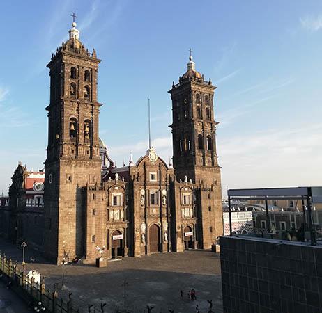 Convent Church of Santo Domingo de Guzmán aka, Puebla Cathedral, Puebla, Mexico