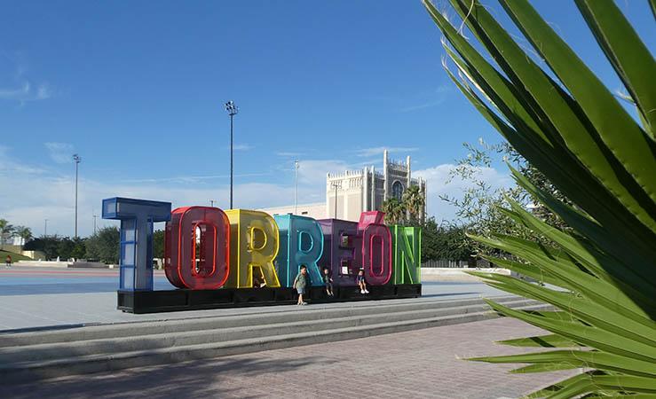 Plaza Municipal, Torreon, Cuahuila, Mexico