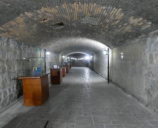 Inside Canal de la Perla, Torreon, Cuahuila, Mexico