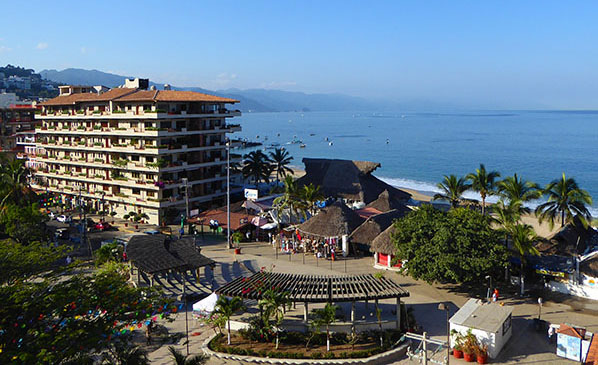 View from our hotel in Puerto Vallarta, Mexico