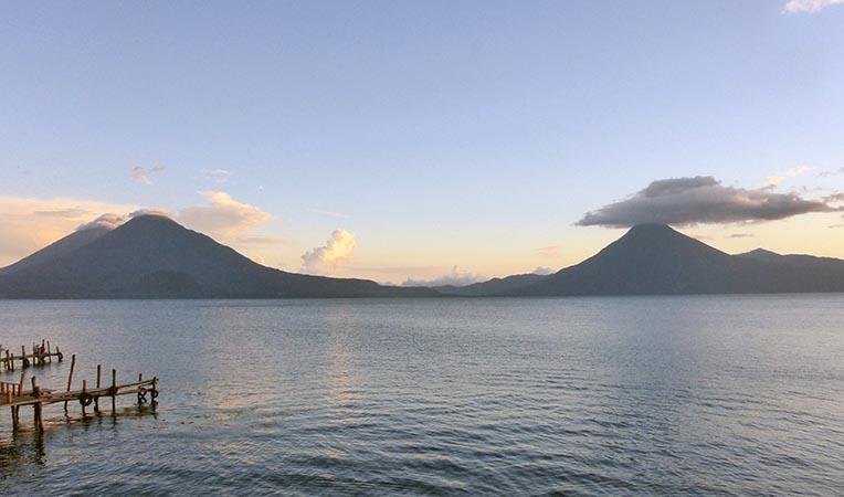 Lake Atitlan Sunset, Guatemala