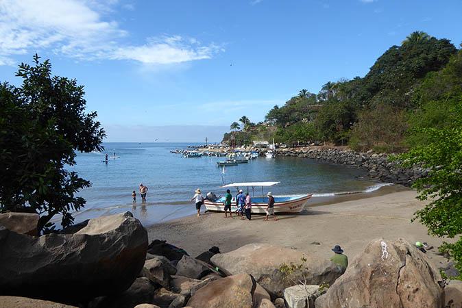 Where the fishermen dock