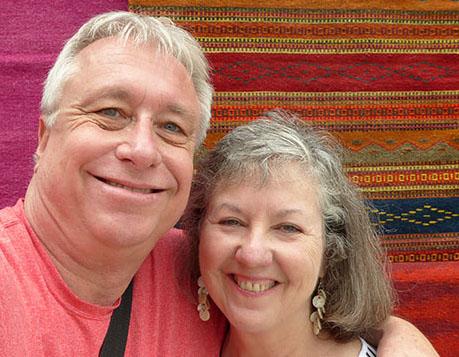 Billy and Akaisha in Guatemala
