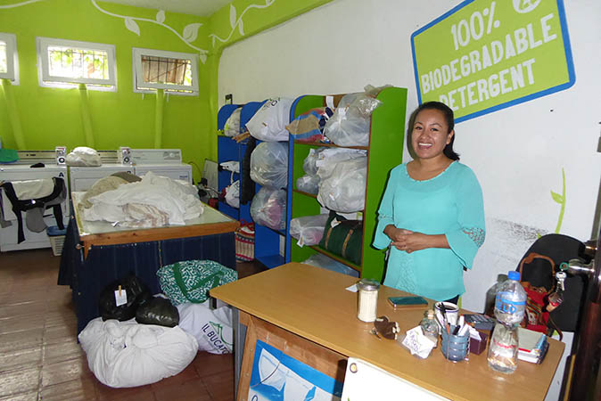 Johanna in her store