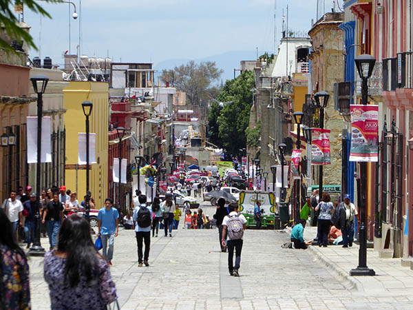 how to call mexico city from oaxaca