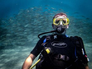 SCUBA Diving in Bali, Indonesia