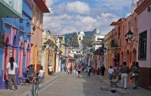 Streets of San Cristobal, Mexico
