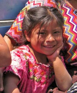 Young Mayan girl, Guatemala