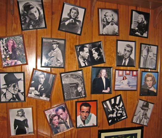 The Bogey and Bacall Wall