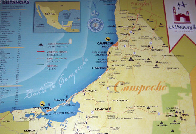 Campeche, a strategic and wealthy seaport