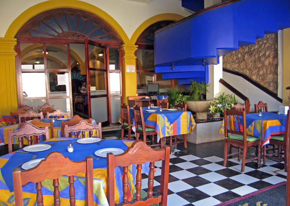 Upbeat, colorful restaurants