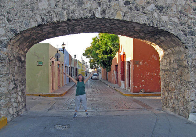Another gate into the City of Campeche