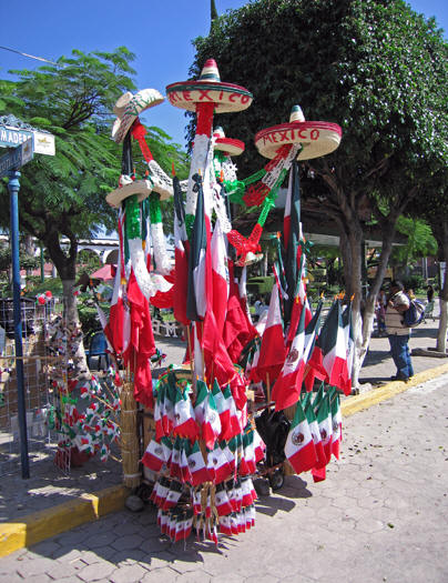 Mexican flags and more to buy!
