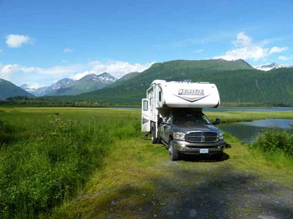 Off the grid in spectacular Alaskan countryside