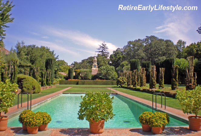 Filoli garden estate for Filoli garden pool