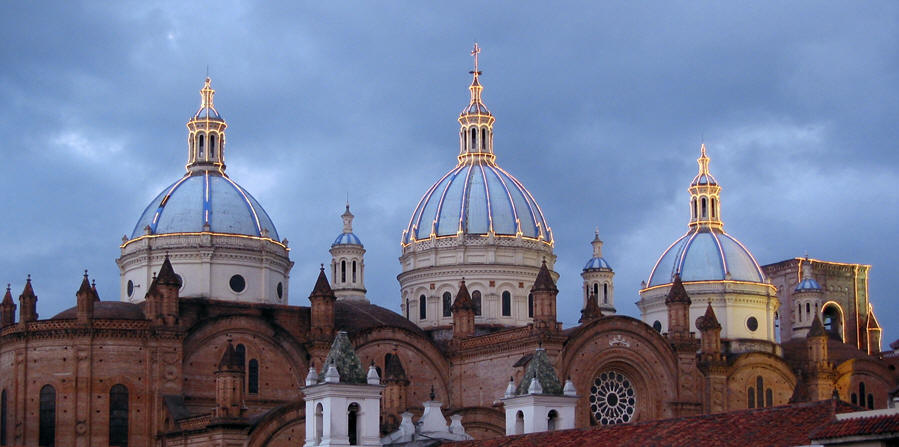 View from our hotel room, Cuenca, Ecuador