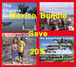 Four books on Mexico, a great value. Take advantage of our insights.