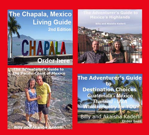 Book covers to all 4 Mexican Books in the bundle
