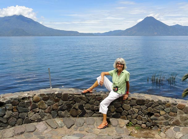 At Lake Atitlan in Panajachel - now my home