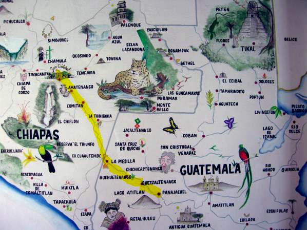 Bartolome De Las Casas Route