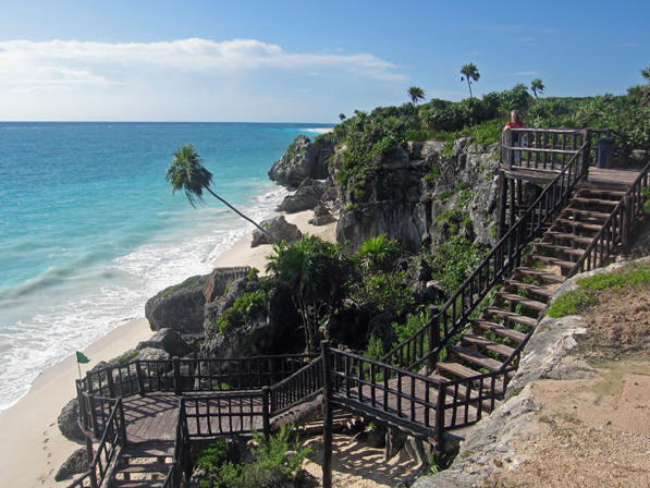 More beach access makes the Mayan Resort one of a kind